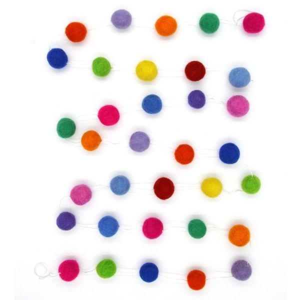 Guirlande Arc-en-Ciel - multicolore