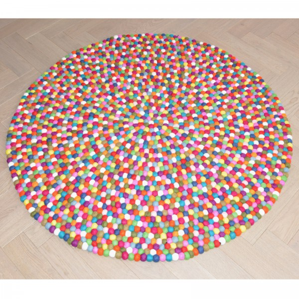 tapis laine multicolore maison design. Black Bedroom Furniture Sets. Home Design Ideas